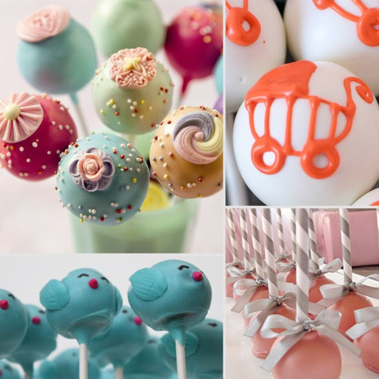 Images Of Cute Cake Pops : Baby Shower