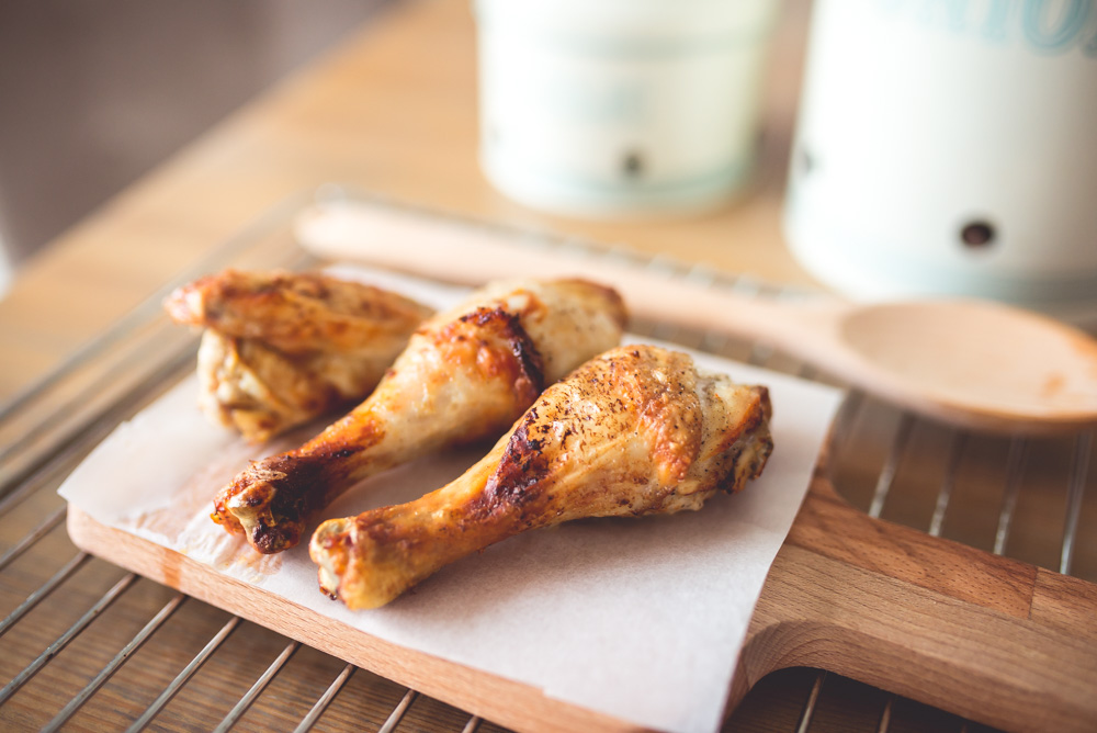 przepis na chrupiacego kurczaka