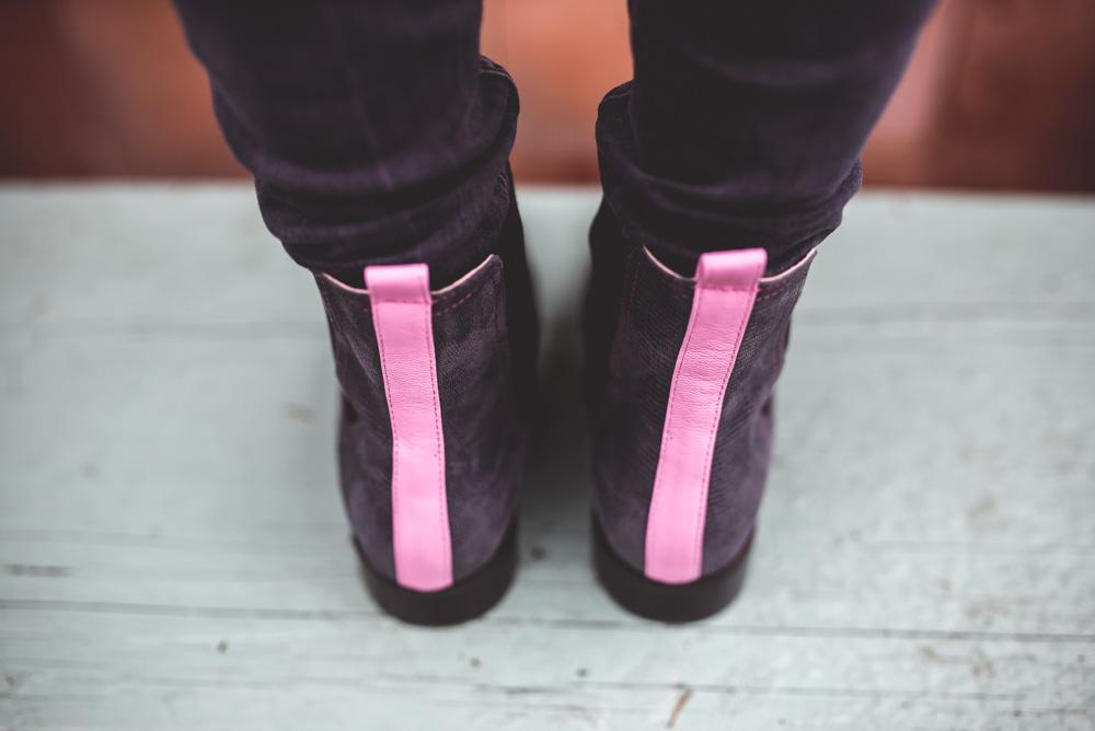 buty wedlug wlasnego projektu