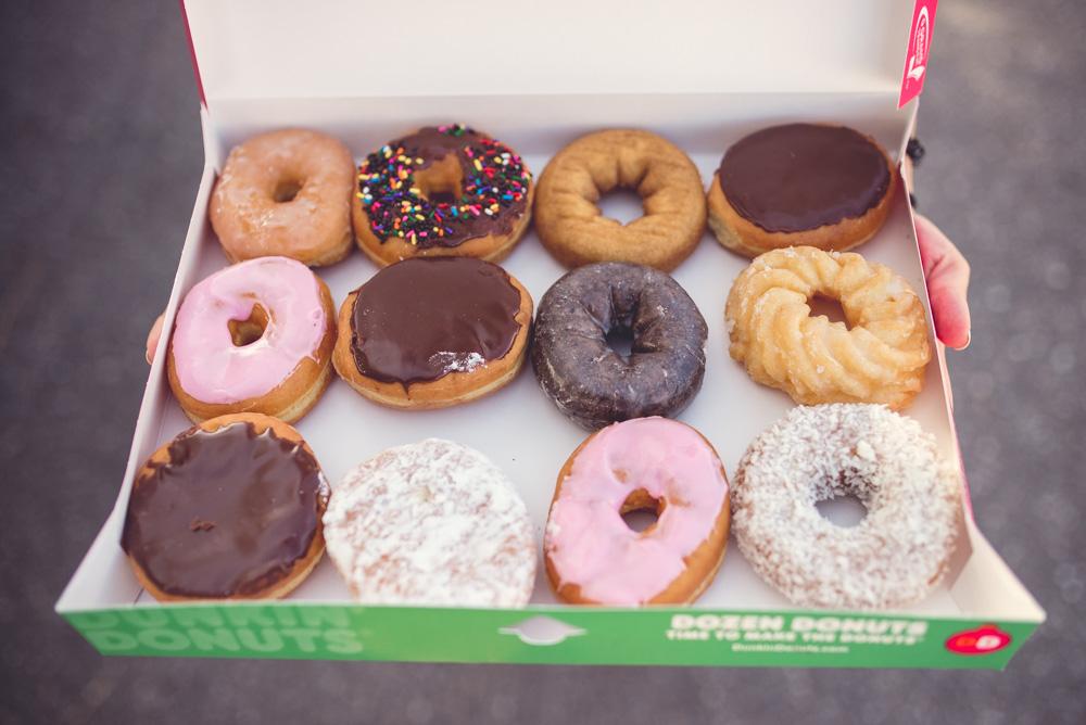 paczki dunkin donuts