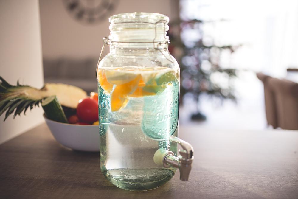picie wody zima