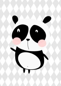 plakat panda