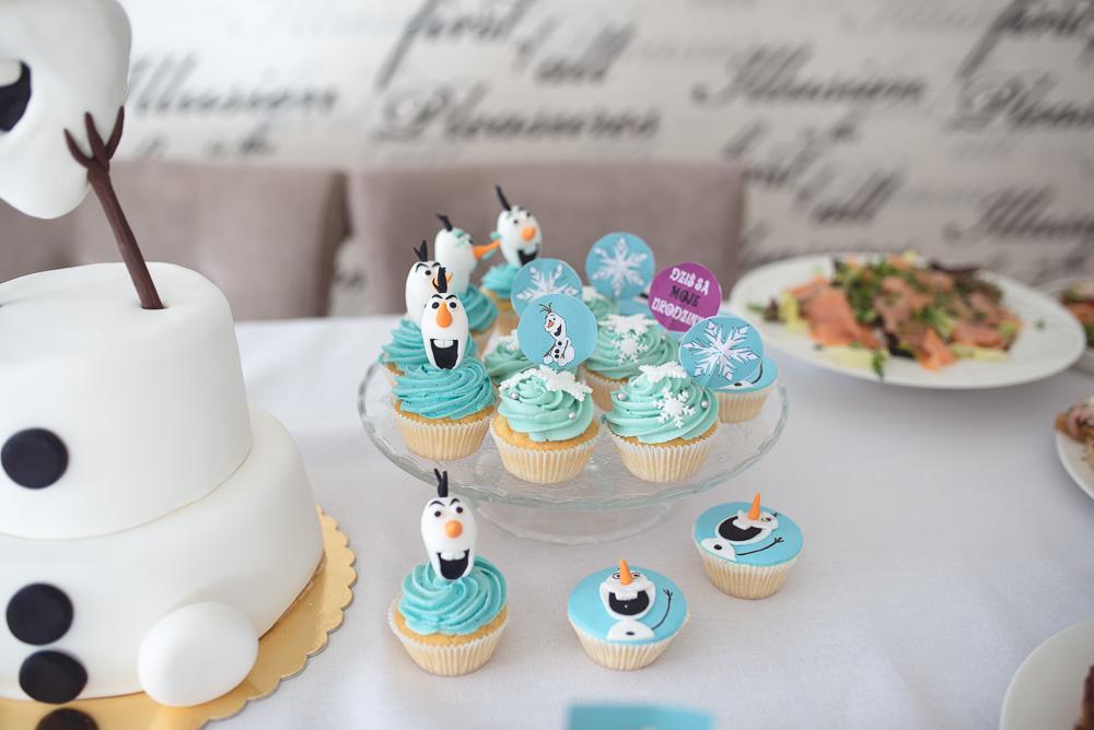 urodziny inspirowane kraina lodu