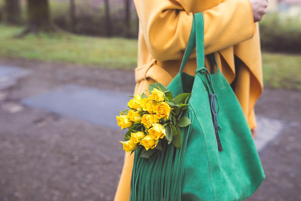 z czym nosic zółty