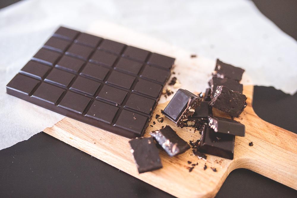 czekolada bez mleka w proszku