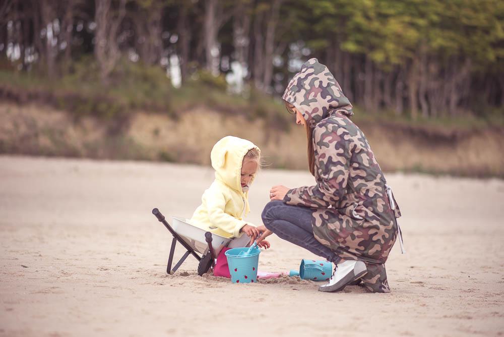 mama corka na plazy