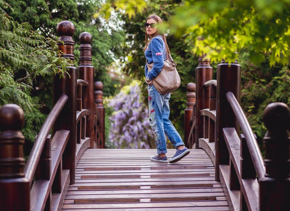 spacer po ogrodzie japonskim we wroclawiu