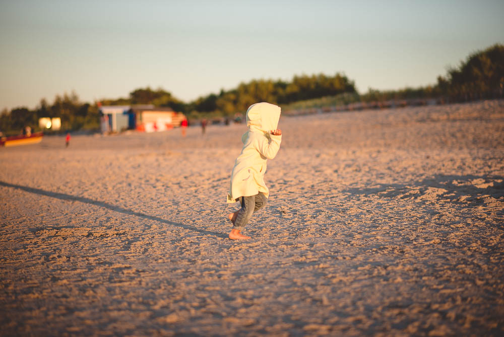 kuznica dziecko na plazy