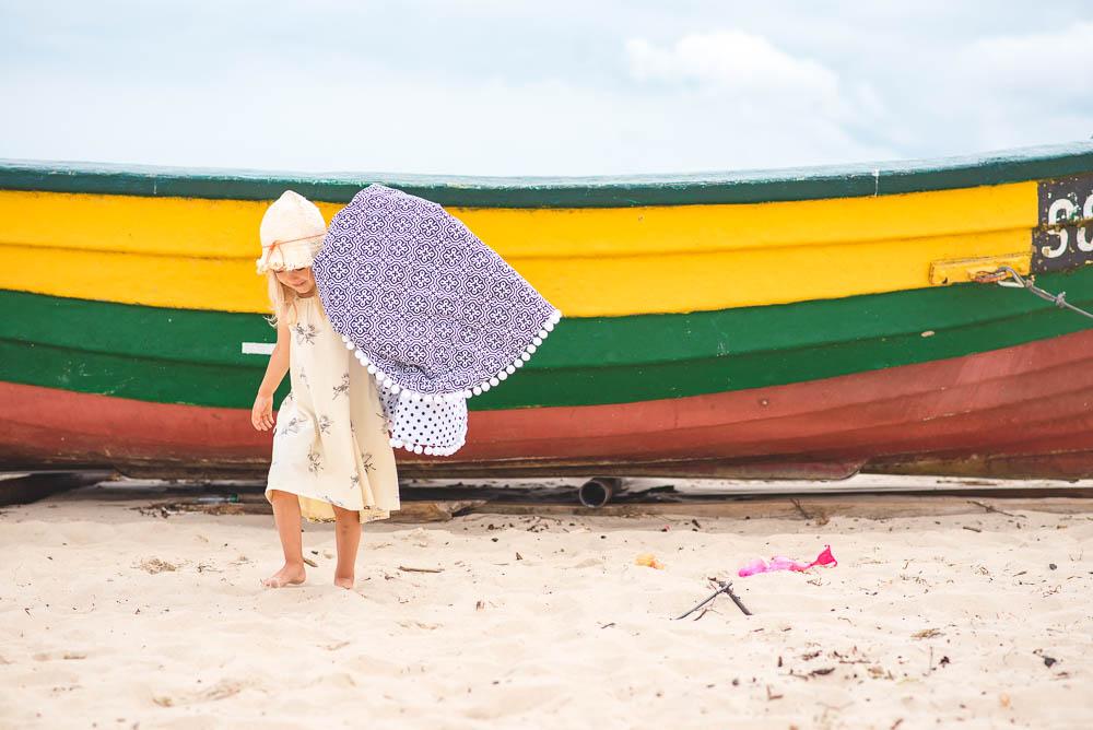 spacer po plazy w jelitkowie