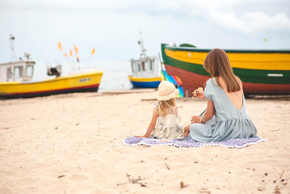 nasze wakacje nad morzem