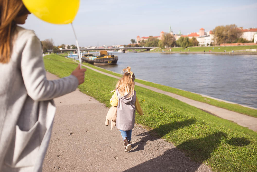 spacer po krakowie z dzieckiem