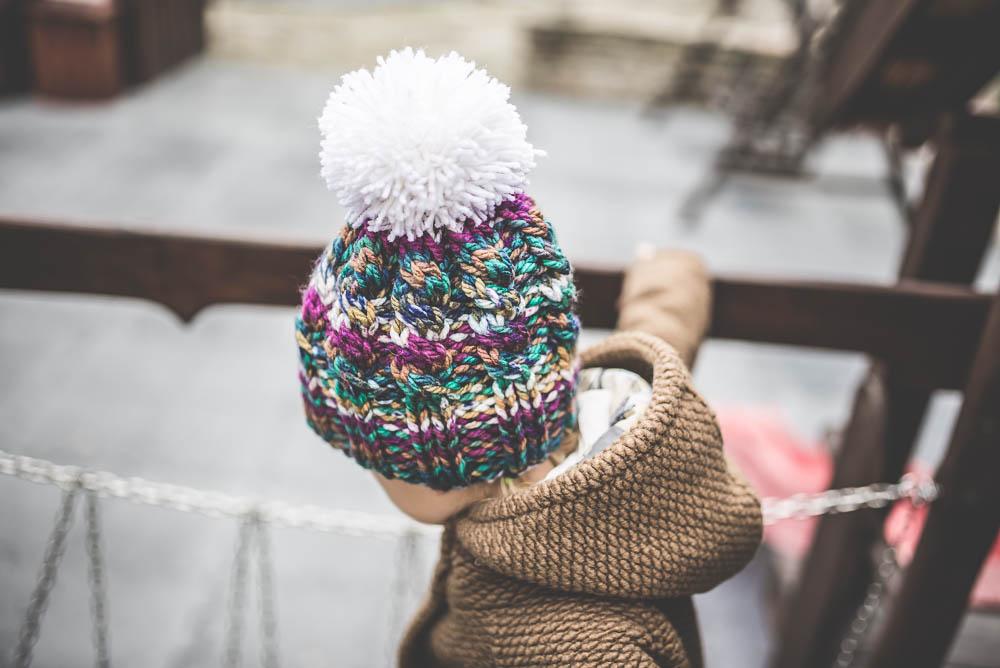 czapka robina na drutach