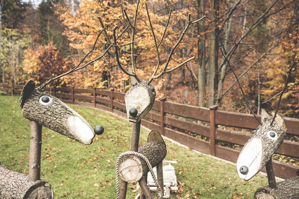 drewniane zwierzeta do ogrodu