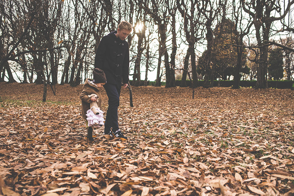 relacje corki z tata