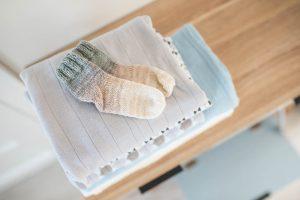 wyprawka dla noworodka skarpetki