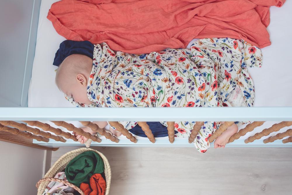 Leżaczek, mata edukacyjna, śpiworek do fotelika, otulacze. Czyli kolejne cuda z wyprawki Antosia