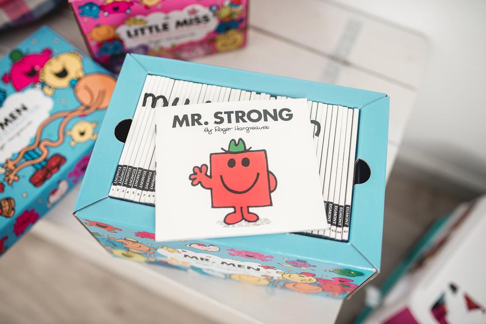 mr strong ksiazka