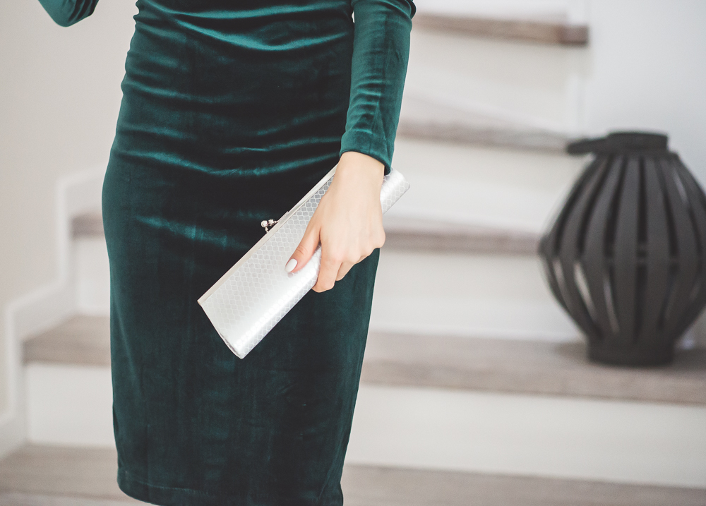 torebka do zielonej sukienki