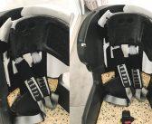 Kiedy ostatnio zaglądałeś pod pokrowiec fotelika samochodowego swojego dziecka?