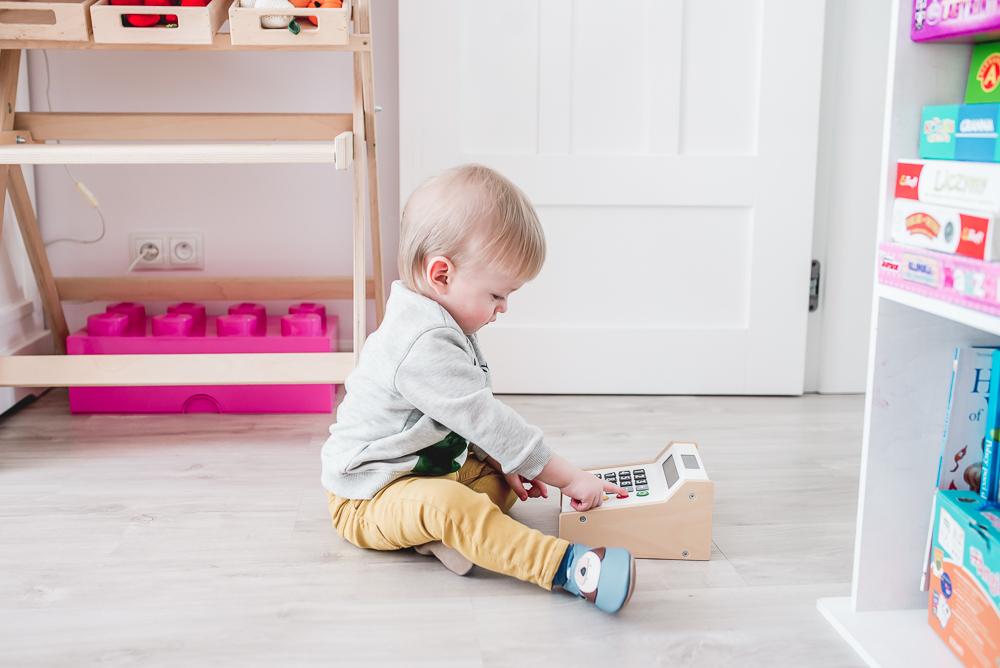 pantofle dla niemowlaka