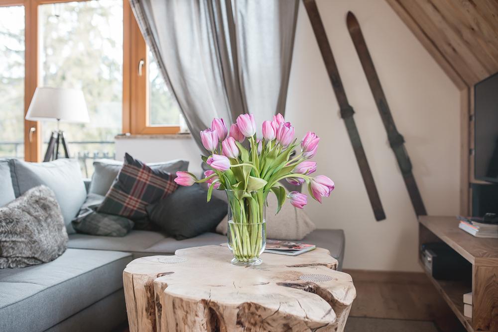 rozowe tulipany