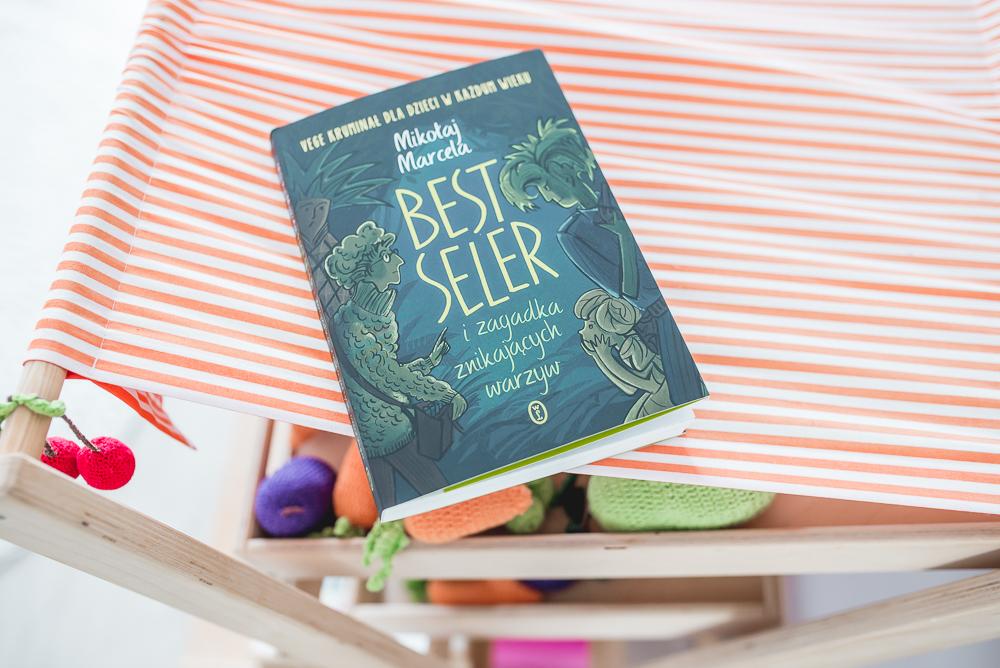 Best Seler i zagadka znikających warzyw. Najlepszy kryminał dla dzieci, jaki czytałam ze swoimi pociechami.