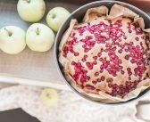 Ciasto ucierane z owocami w 10 minut!