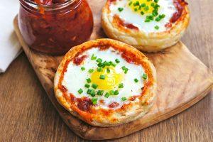 pizza na sniadanie