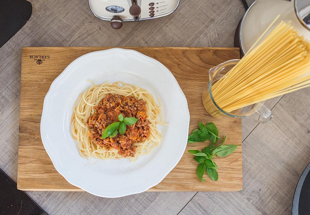 spaghetti przepis