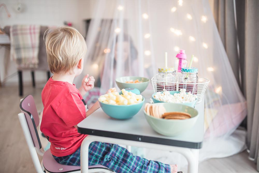 pidzama party dla dzieci