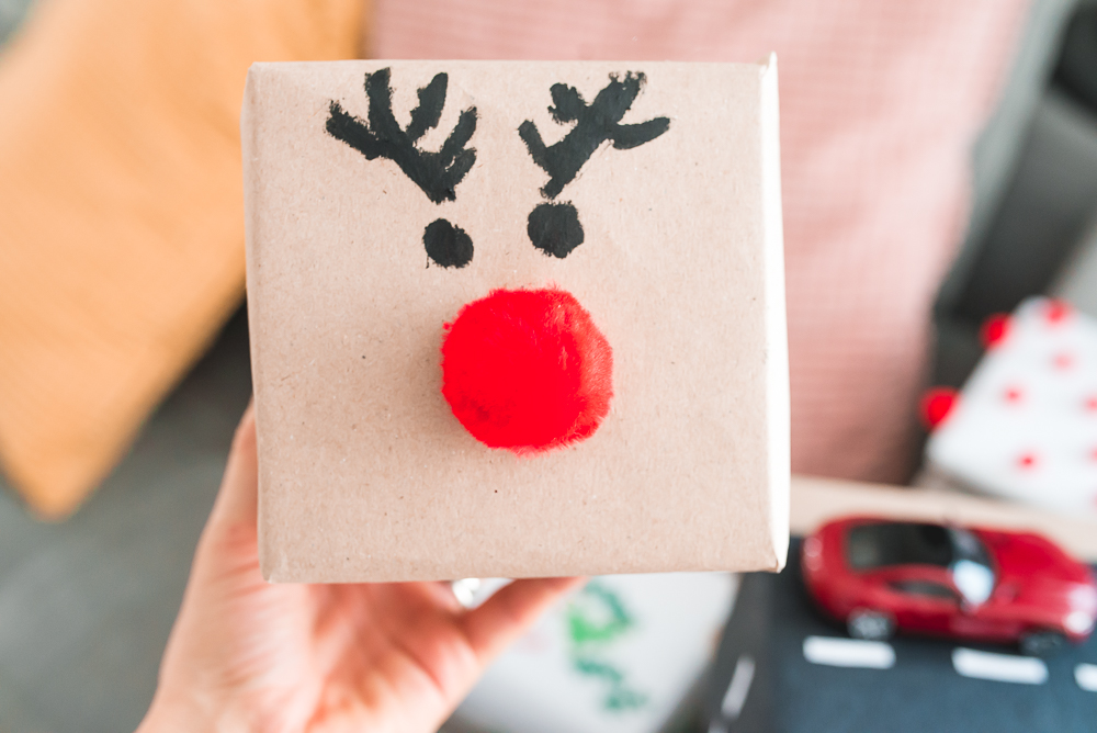 jak zapakowac prezent dla dziecka na swieta