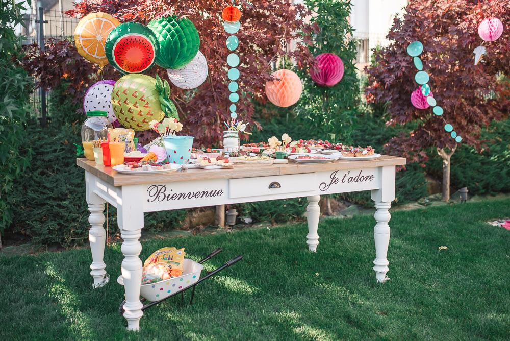 Zdrowe przekąski na letnią imprezę dla dzieci w ogrodzie (i nie tylko).
