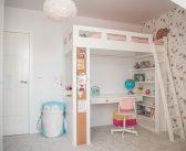 Jak urządzić pokój dla dziewczynki w wieku szkolnym. Pokój Lenki po metamorfozie.